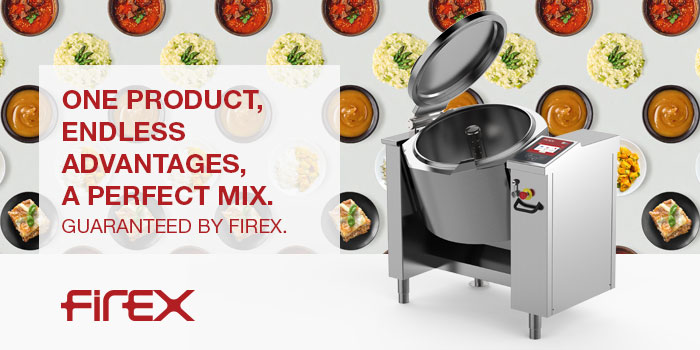 Firex Commercial Food Equipment, Tilting Bratt Pans, Made In Italy
