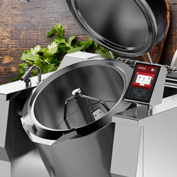 This multifunctional cooker is ideal for different types of preset cooking: steaming, boiling, pressure cooking, braising and browning.
