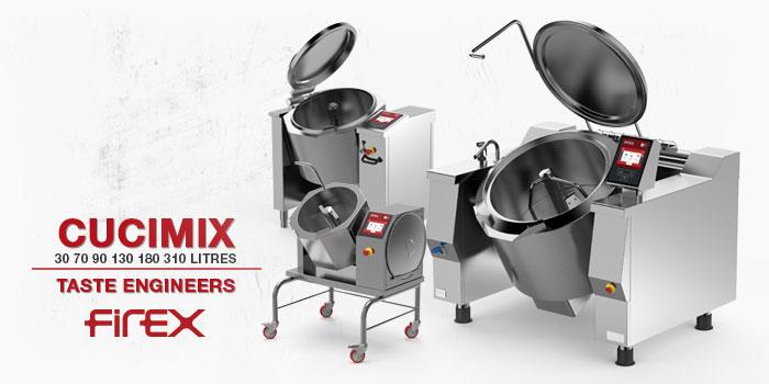 Firex Cucimix Automatic Cookers Mixing Tilting Kettles New Videos