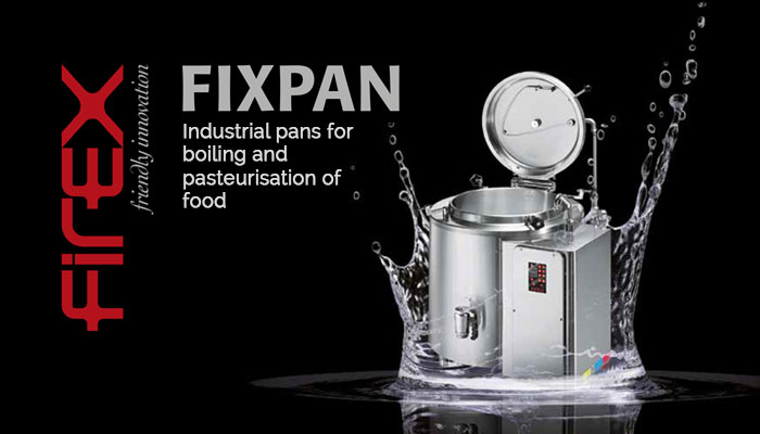 Capacities from 100 to 550 litres. Specialised in boiling and pasteurising packed products