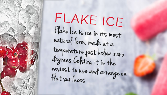 Commercial ice machines, flake ice, ice flakers, Icematic made in Italy