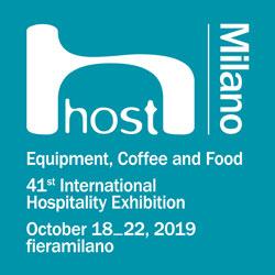 Host Milano 2019, Baron, Icematic, Firex, Polaris, Eloma, Dihr, Moduline, Scots Ice Australia Brands, Ali Group