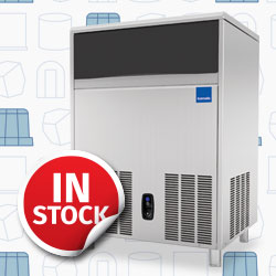 Icematic Self Contained Ice Makers Cubers, Bright Gourmet Ice, Always In Stock, Great Prices, Made In Italy