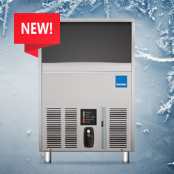 Icematic F Series Self Contained Under Counter Ice Flakers, New Models Available, Made In Italy