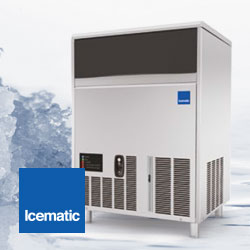 Icematic F Series Self Contained Ice Flakers, New Models Available Soon, Made In Italy