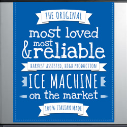 M Series - The Original, Most Loved Modular Ice Machine on the Market, 100% Italian Made Learn more