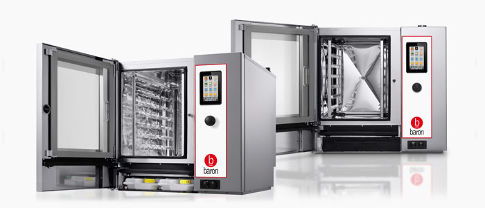 New look Baron Optimus model combi ovens