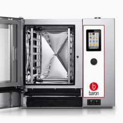 New look Baron Optimus model combi ovens