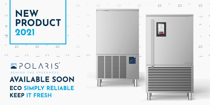Polaris Blast Chillers Freezers, Self Contained, ECO, KEEP New Models Series, Made In Italy
