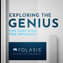 Polaris Genius Blast Chillers Blast Freezers, Five Functions In One Appliance, Made In Italy