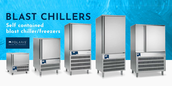 Polaris Blast Chillers Freezers, Self Contained, PBF Series, Made In Italy