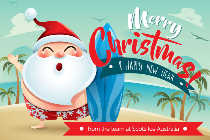 The team at Scots Ice Australia Foodservice Equipment would like to thank you for your support throughout 2019.