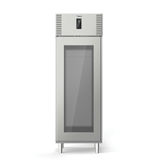 Polaris polaris 490l one glass door refrigerated cabinet self contained freezer a70 btv