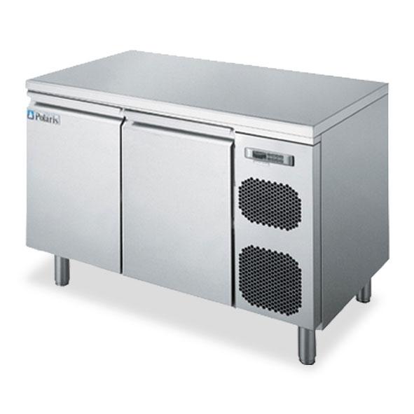 Polaris refrigerator counter cabinet two door kst02