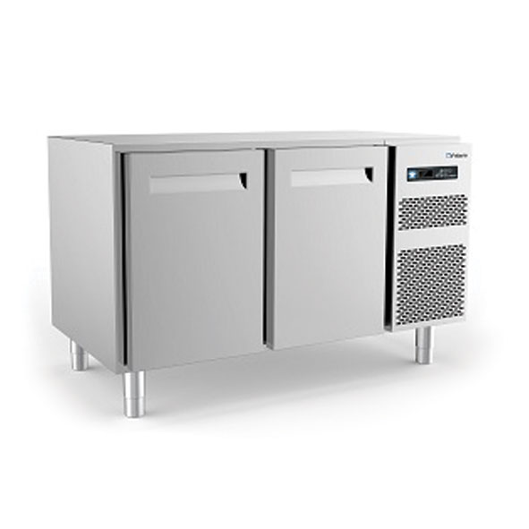 Polaris refrigerated counter cabinet two door kst18 02