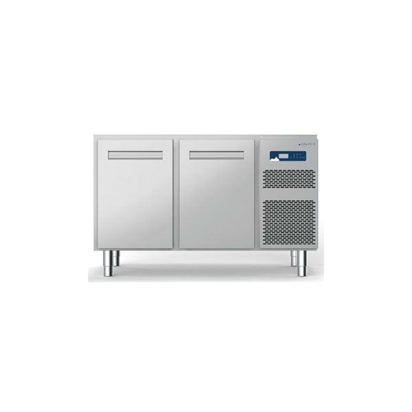 Polaris polaris 186l two door refrigerated table self contained freezer s18 02 bt 710