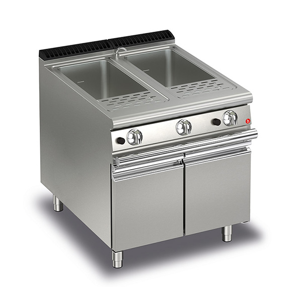 baron 26 26l double basin gas pasta cooker q70cp g800