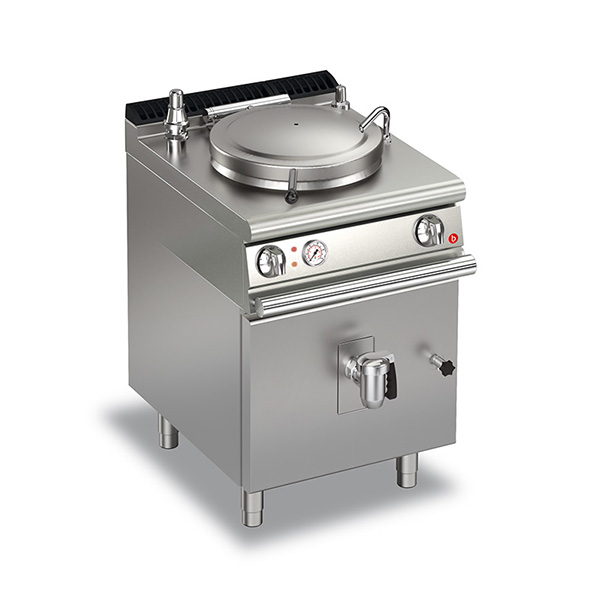 baron 50l indirect heating electric boiling pan q70np ei650