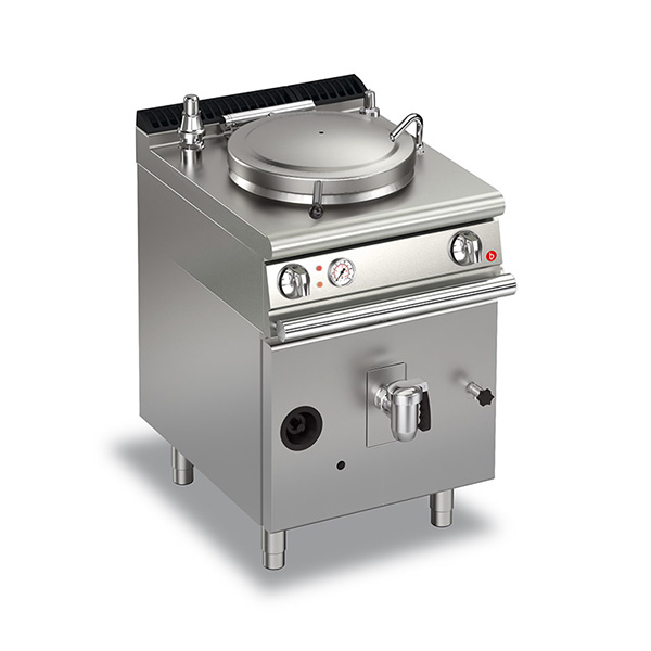 baron 50l indirect heating gas boiling pan q70np gi650