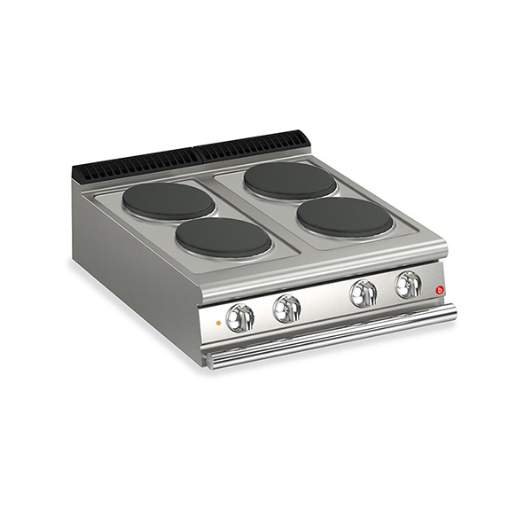 baron 4 burner electric cook top q70pc e800
