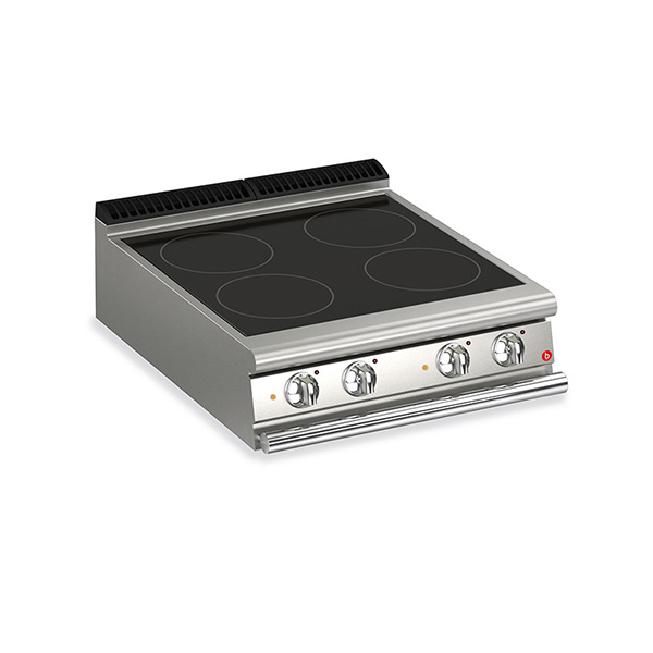 baron 4 burner electric cook top ceramic glass q70pc vce800
