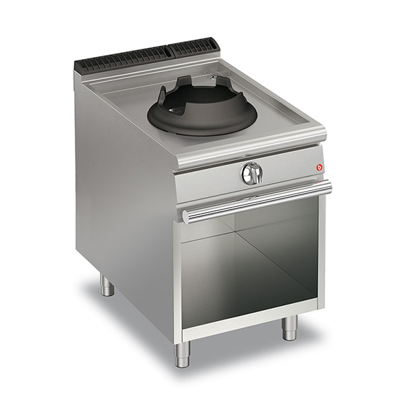 Baron baron 14kw high power single burner gas wok open cabinet q70pcv wg614