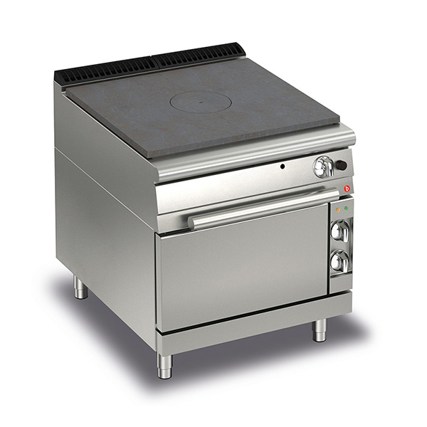 baron gas target top electric oven q70tpf ge800