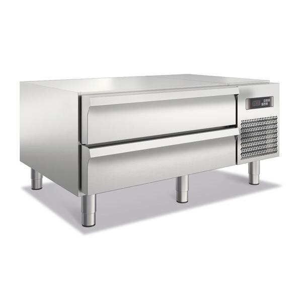 baron royal line refrigerated base 2 drawers br912 tnn