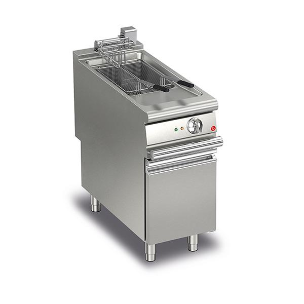 Baron baron 22l single basin electric deep fryer q90fri e422