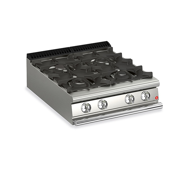 baron 4 burner gas cook top q90pc g8005