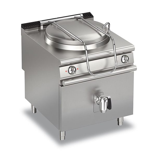 baron 150l direct heating electric boiling pan q90pf ed150