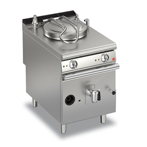 baron 50l indirect heating gas boiling pan q90pf gi650
