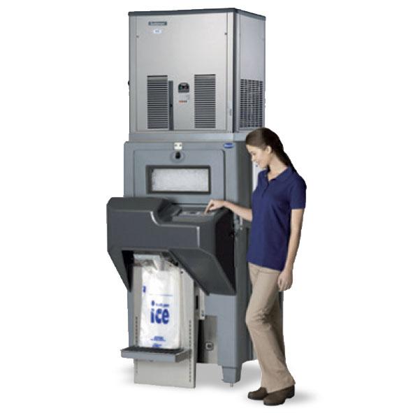 Scotsman ice bagging system automatic edb650