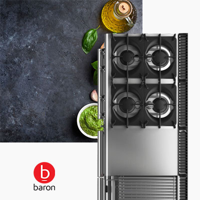 Cooking Catering Equipment Combi Ovens Fryers Barbeques Commercial Baron