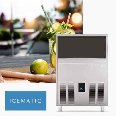 Icematic Ice Machines, Ice Flakers, Ice Dispensers, Ice Storage