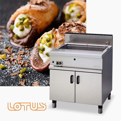 Commercial Pastry, Doughnut, Fish & Schnitzel Fryers Lotus