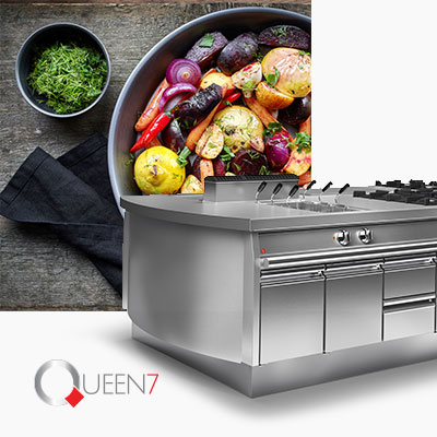 Cooking Catering Equipment Commercial Medium Line Baron