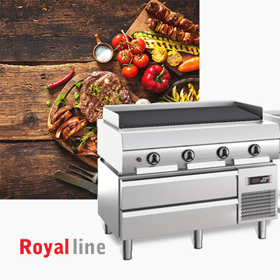 High Performance Cooking Catering Equipment Commercial Heavy Duty Line Baron