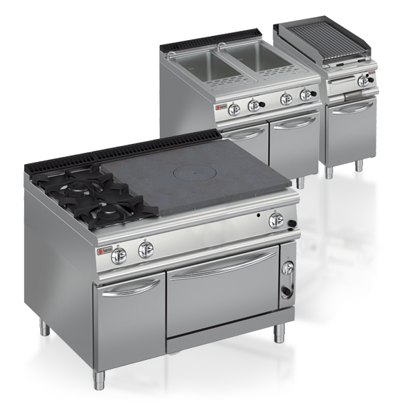 Cooking Catering Equipment Commercial Medium Line Baron 700 Series