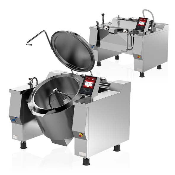 Food Processing Industrial Stock Pots Bratt Pans Commercial Firex