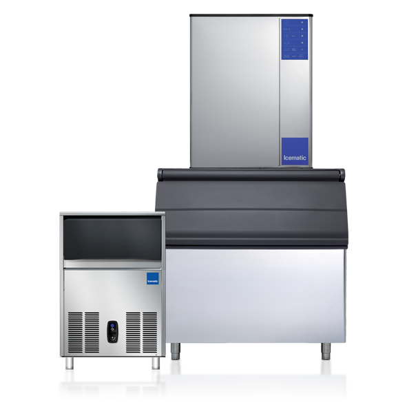 Icematic Ice Machines, Ice Flakers, Ice Dispensers, Ice Storage