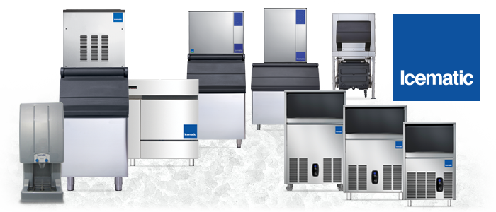 Icematic Ice Machines, Ice Flakers, Ice Dispensers, Italian Made by Castle MAC
